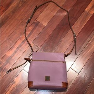 Lilac Dooney & Bourke Crossbody